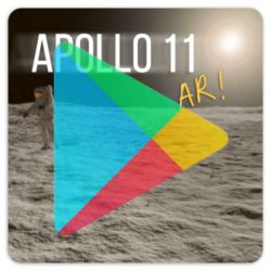 Click to download the free Apollo 11 AR app from the Google Play Store